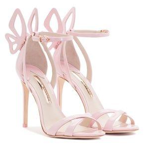 NIB Baby Pink Patent Leather Madame Chiara Pumps